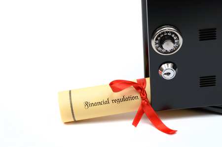 Bank and financial regulations and steel safe