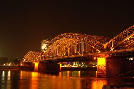 Brücke in Nght