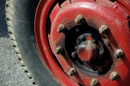 needing: Old Tuck wheel needing Maintenance