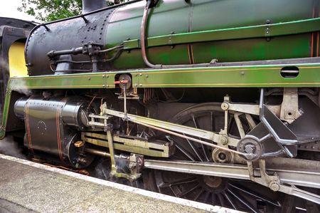 Steam engine train waiting at Alton station Stock Photo - 4674531