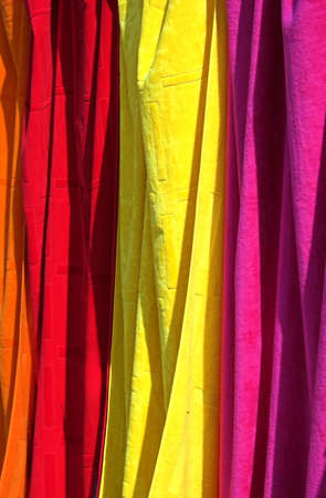 Colorful towels photo