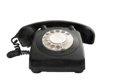 ringer: Vintage phone Stock Photo