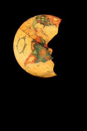 iluminated: Iluminated mundo se enfrentan con una silueta