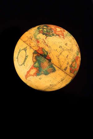 conceptional: Iluminated globe