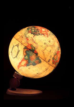 Iluminated globe Stock Photo - 365820