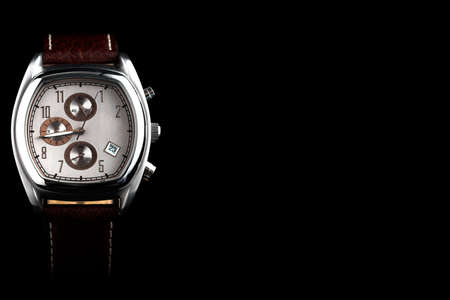cronografo: Moderno reloj  Foto de archivo