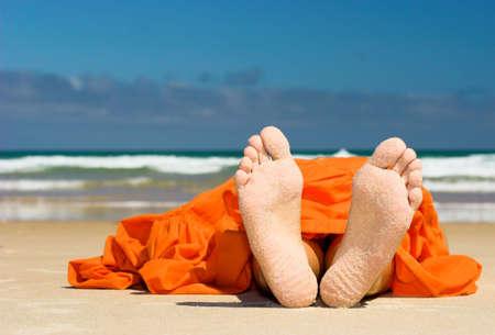 jolie pieds: Pieds dans un grand plan