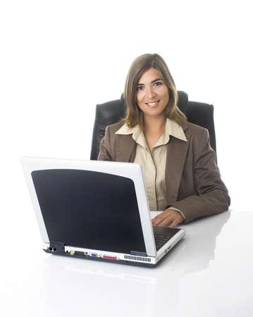 Negocios mujeres trabajando en la oficina  Foto de archivo - 567401