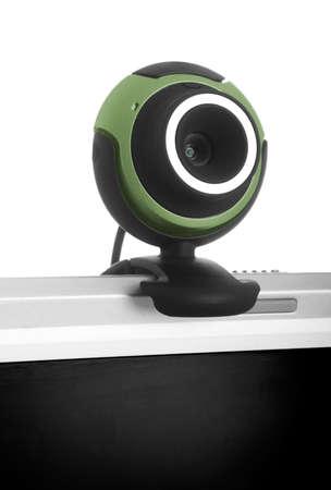 msn: Digital webcam in a laptop