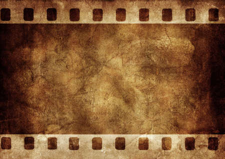 Abstract background made with old textured paper with a photo frame photo