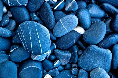 black pebbles: Great background image made of beautiful stones