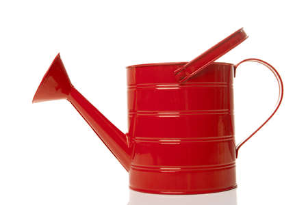 Watering can isolated over a white background Stock Photo - 9383200
