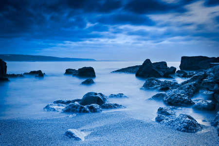 Beautiful landscape of a beach from south europe Stock Photo - 17227271