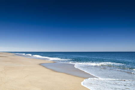 Beautiful landscape of a white sand beach from south europe Stock Photo - 17227255