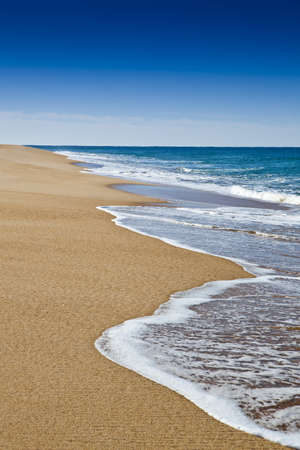 Beautiful landscape of a white sand beach from south europe Stock Photo - 17227276