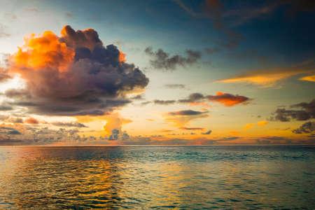 Beautiful view of a tropical beach in Praslin, Seychelles