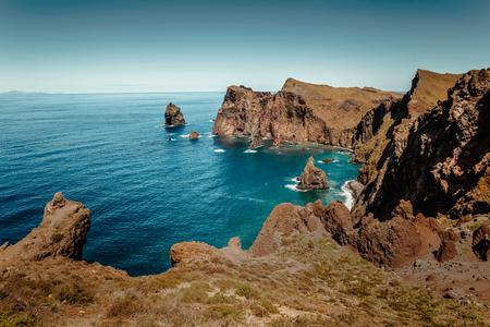 Beautiful view of Madeira Island, Ponta de São Lourenço  - Portugal Imagens - 130544777