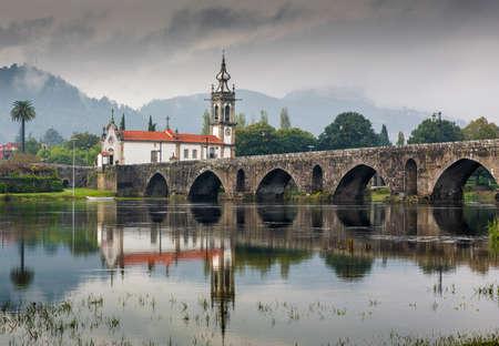 Beautiful village of Ponte de Lima, Portugal