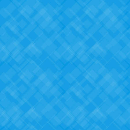 Seamless background with transparent squares on blue background. Polygon background pattern in modern style. Иллюстрация