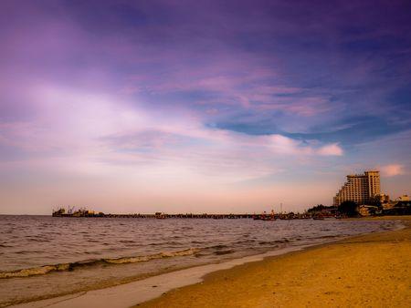 Sea of Thailand, Hua-hin beach,