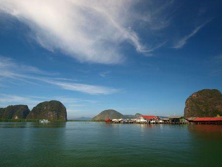 Phang-nga Bay ,south of Thailand