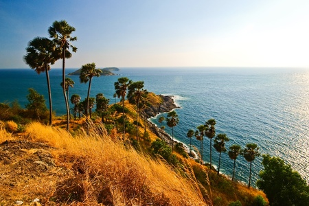 natural landmark: Laem Phrom Thep, Phuket, South of thailand