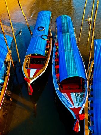 Boats at Phang Nga Bay, Andaman