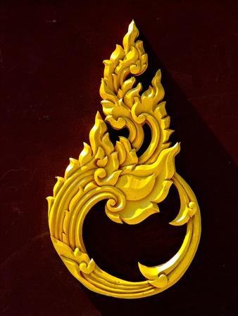 タイの伝統的なパターン 写真素材