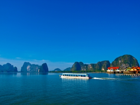 Panyi island in the Phang Nga Bay, Thailand