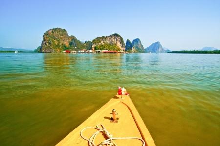 panyi: Panyi island in the Phang Nga Bay, Thailand