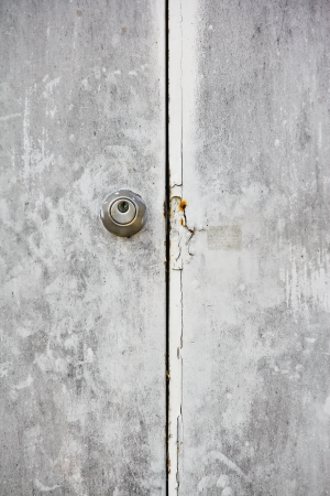old steel door Stock Photo - 18422811