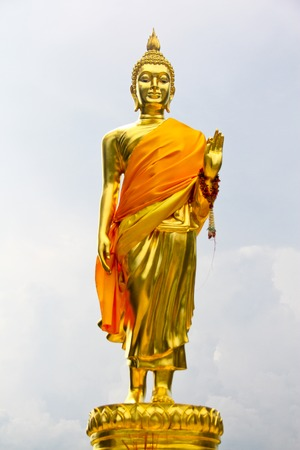 Buddha statue.Native Thai style and this is Traditional and generic style in Thailand . no any trademark or restrict matter in this photo
