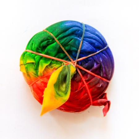 dye: technical of Tie Dye Swirling pattern Stock Photo