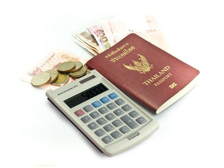 タイのパスポート、タイの紙幣と硬貨