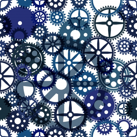 reloj de pendulo: Seamless background clockwork