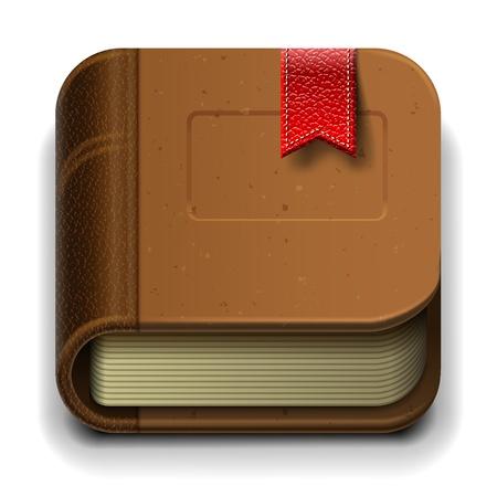 e commerce icon: Ebook icono
