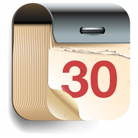 Kalender Datum icon Illustration