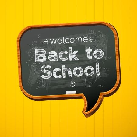 bienvenida: De vuelta a la escuela Vectores