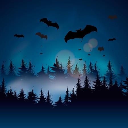 nightmare: Halloween background