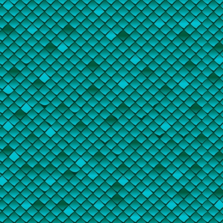 roof tile: Turquoise cover background Illustration