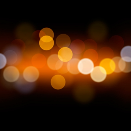 Abstract festive background with defocused lights Stock Photo