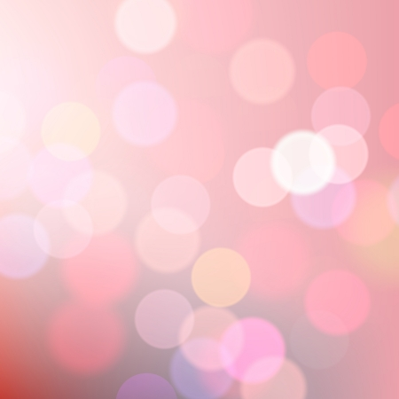 Abstract blurred pink background of holiday lights Vector