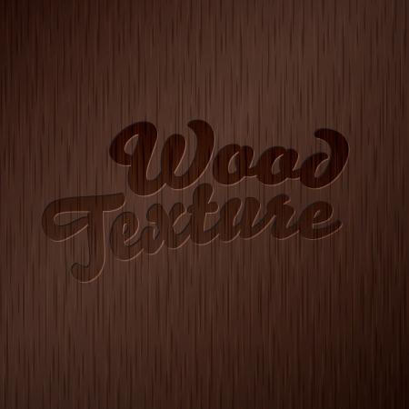 wood structure: Dark wooden texture Illustration