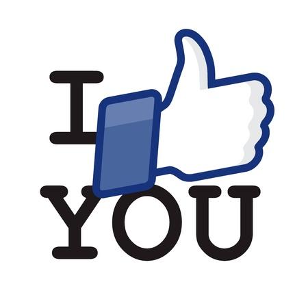 permission: Like Thumbs Up symbol icon - I like you