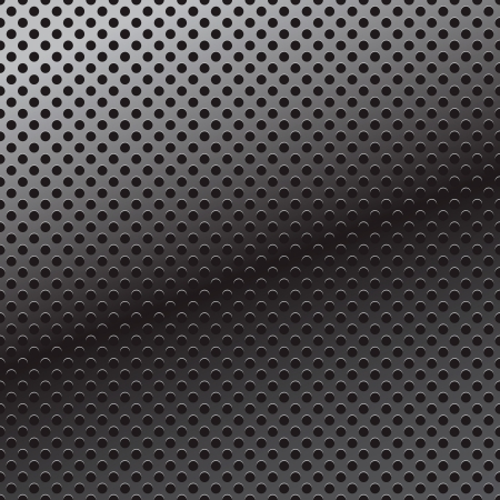 ironworks: Vector pattern of perforation metal background