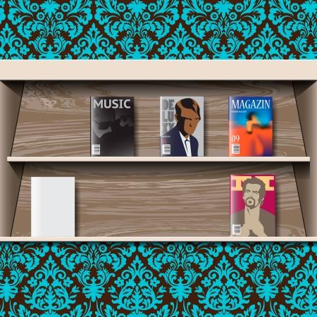 Stand online magazines, vector Stock Vector - 20199130