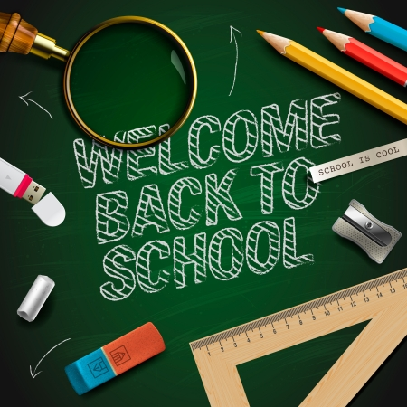 Welcome back to school Stock Photo - 20869282