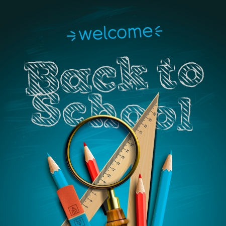 Welcome back to school, Stock Photo - 20869284