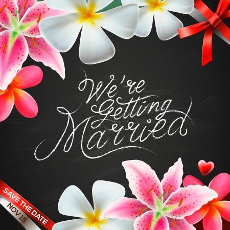 getting married: We re getting married