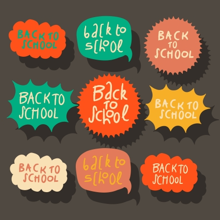 Set of colorful speech bubbles Stock Photo - 21299411